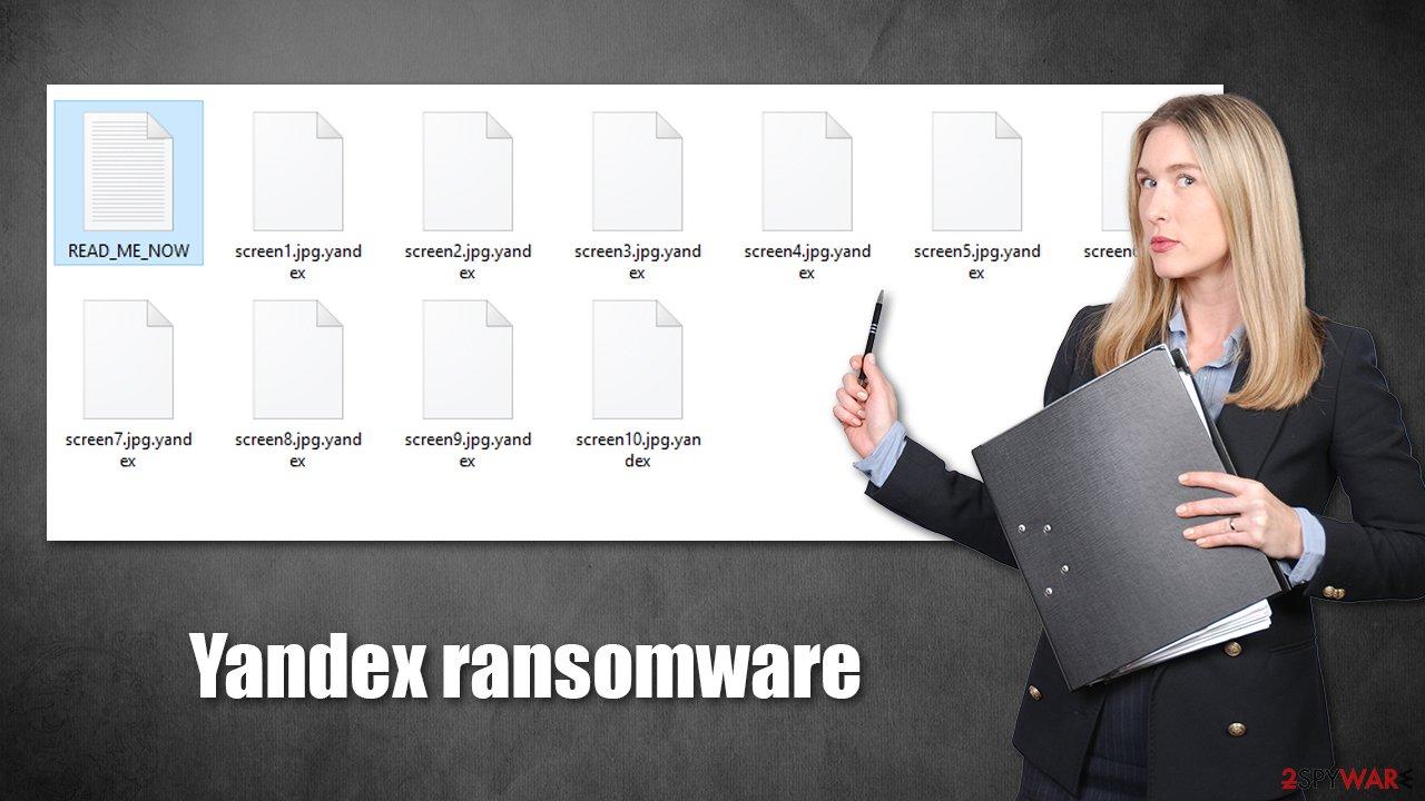 Yandex ransomware virus