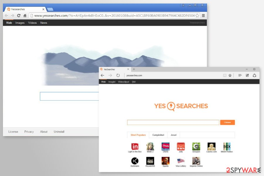 Image of YesSearches.com