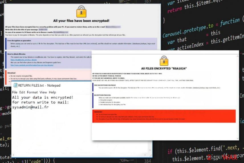 yG ransomware