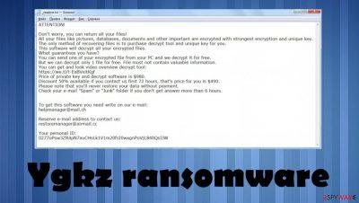 Ygkz file virus