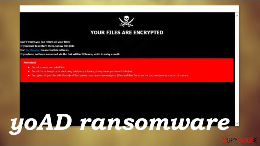 yoAD ransomware