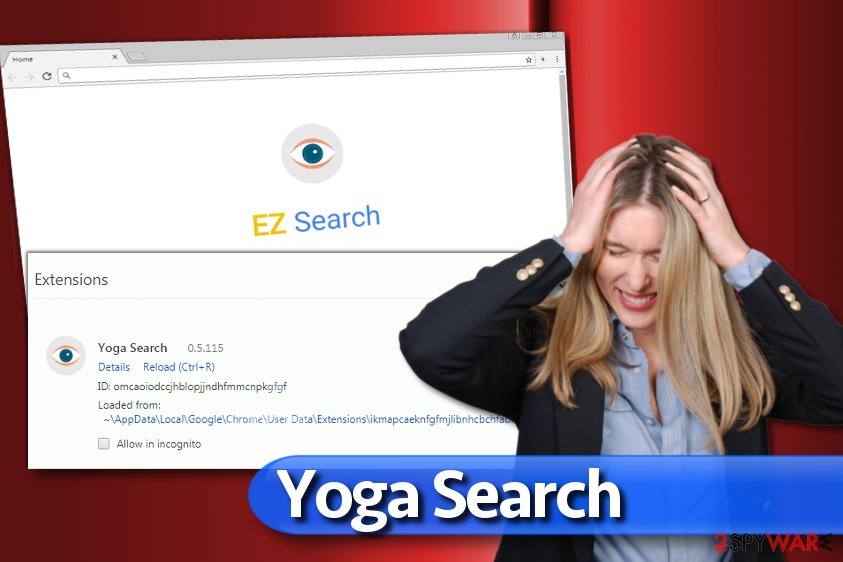 Yoga Search redirect virus