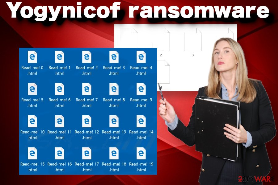 Yogynicof ransom note