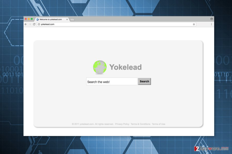 Screenshot of Yokelead.com