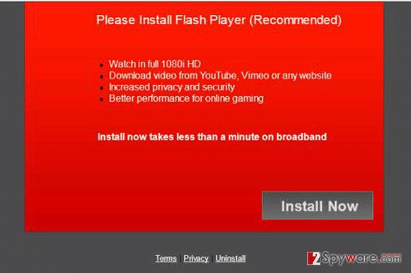 Ns.winupdate.24.com pop-up virus snapshot