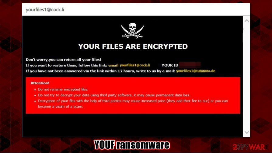 YOUF ransomware