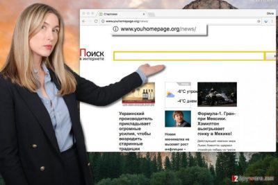 Youhomepage.org virus