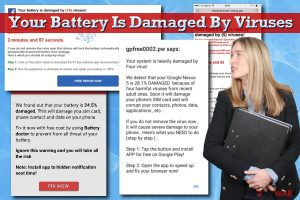 Your Battery Is Damaged By Viruses