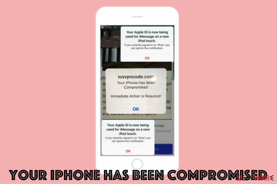 Your iPhone has been compromised