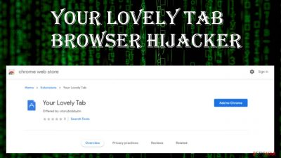 Your Lovely Tab browser hijacker