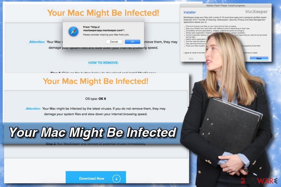 Your Mac Might Be Infected virus