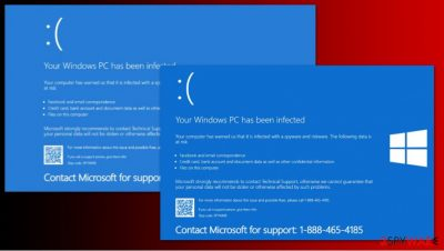 Your Windows PC has been infected scam