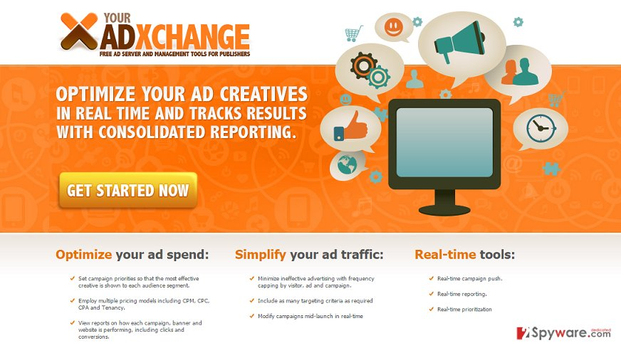 YourAdExchange.com pop-up ads snapshot