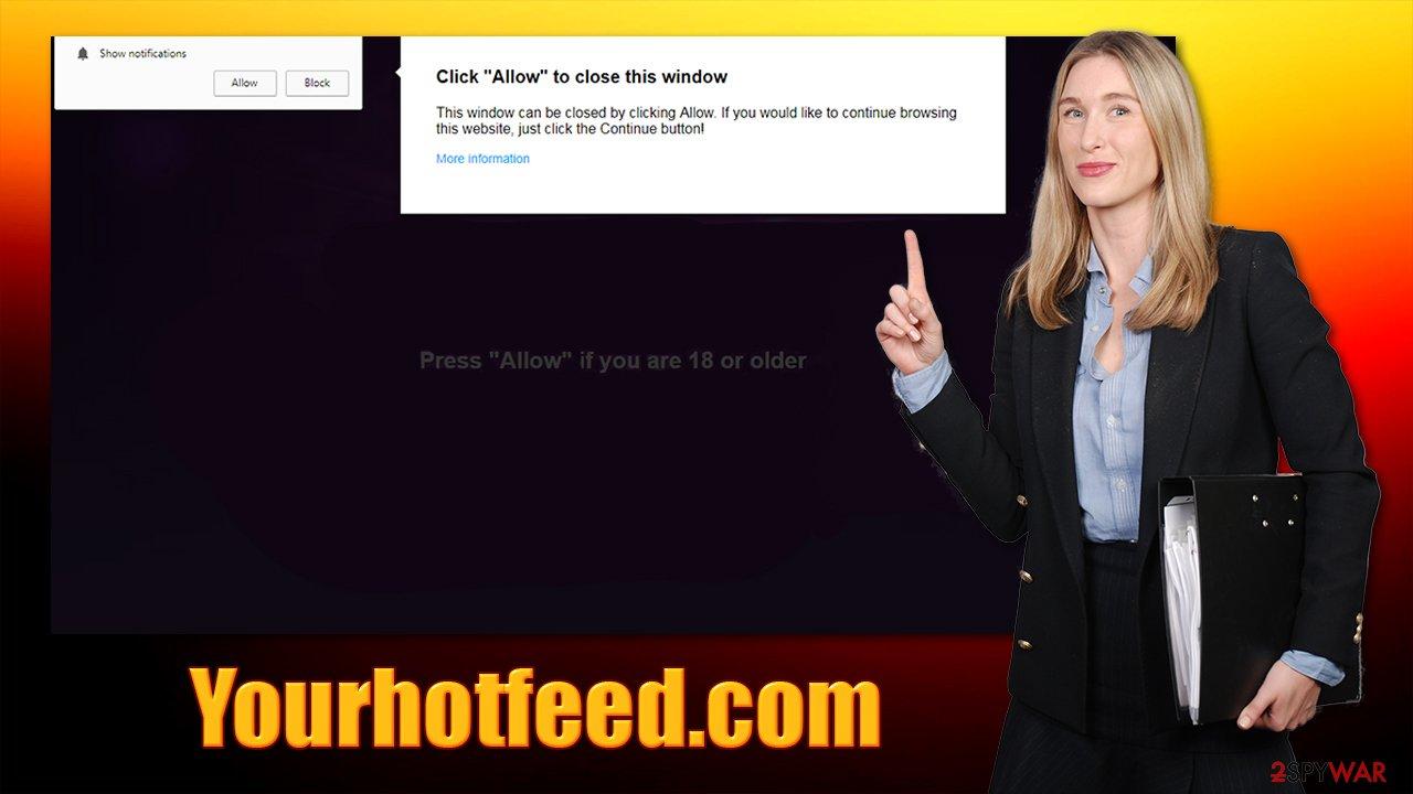Yourhotfeed.com ads
