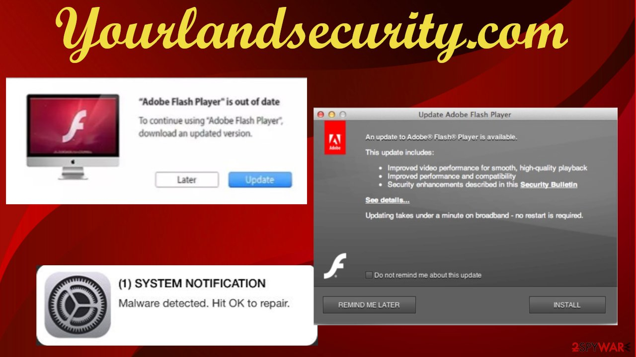 Yourlandsecurity.com redirect
