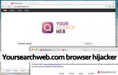 Yoursearchweb.com virus in Chrome