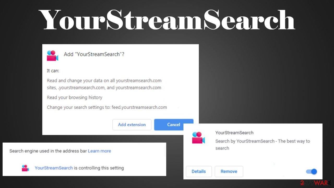 YourStreamSearch virus