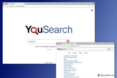 The image of Yousearch.io virus