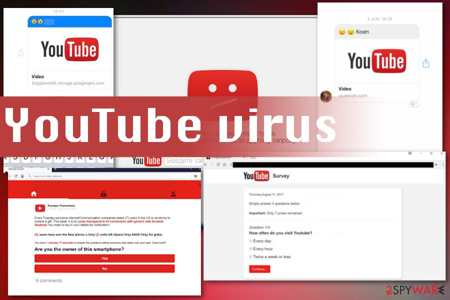 Virus on Youtube