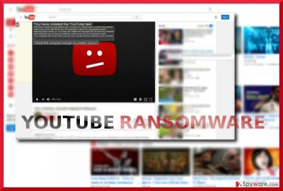 The screenshot of Youtube malware