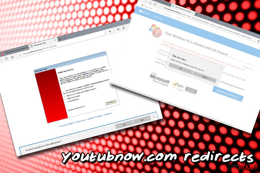 Youtubnow.com redirects