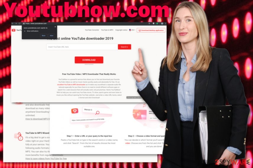 Youtubnow.com virus