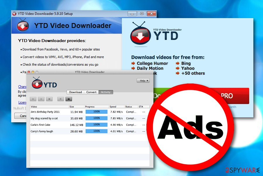YTD Video Downloader virus