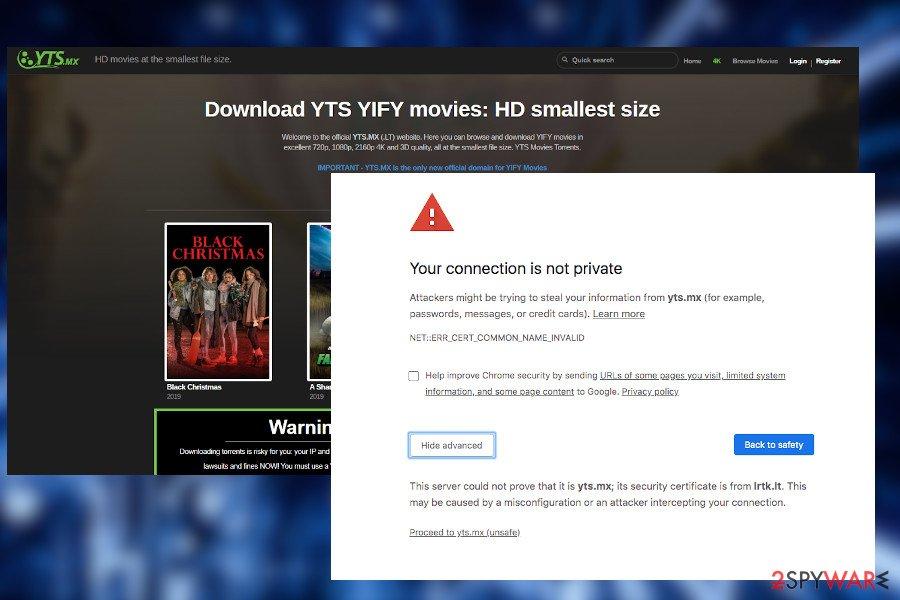 Remove Yts Mx Ads Virus 2021 Update