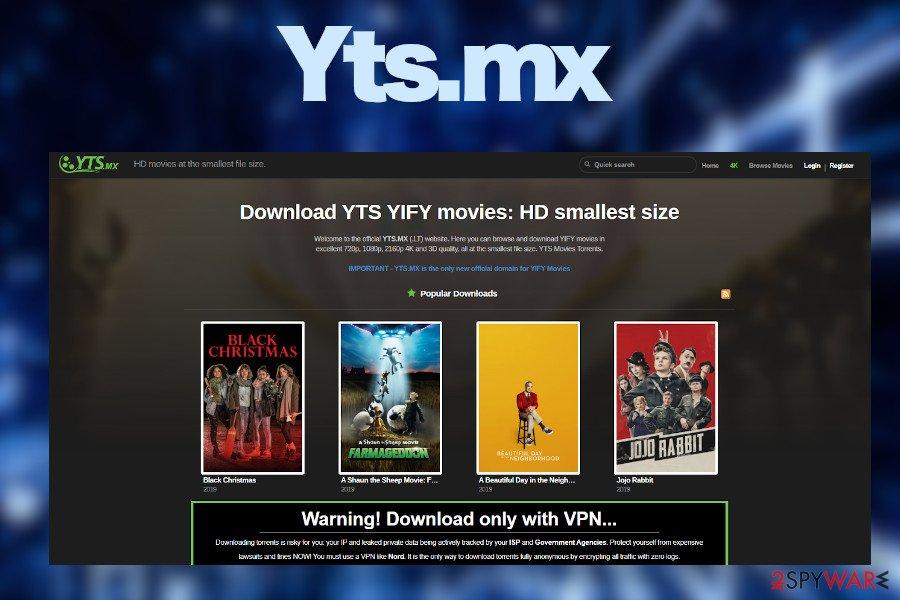 Yts.mx ads