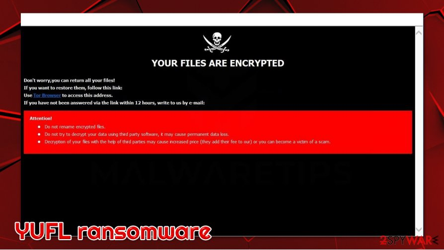 YUFL ransomware