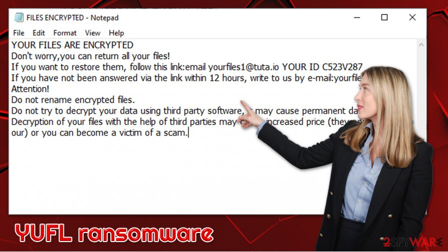 YUFL ransomware virus
