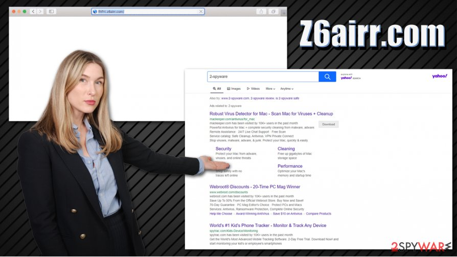Z6airr.com redirect
