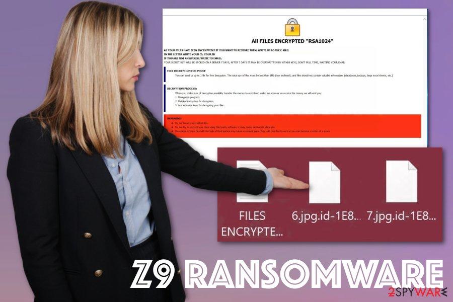 Z9 ransomware virus
