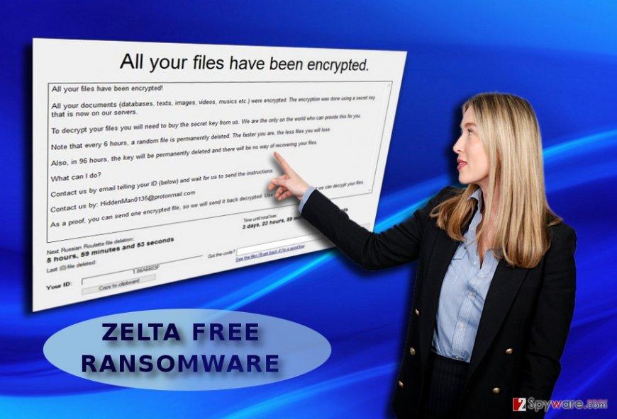 The screenshot of Zelta Free GUI