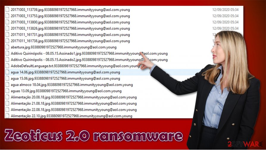 Zeoticus 2.0 ransomware virus