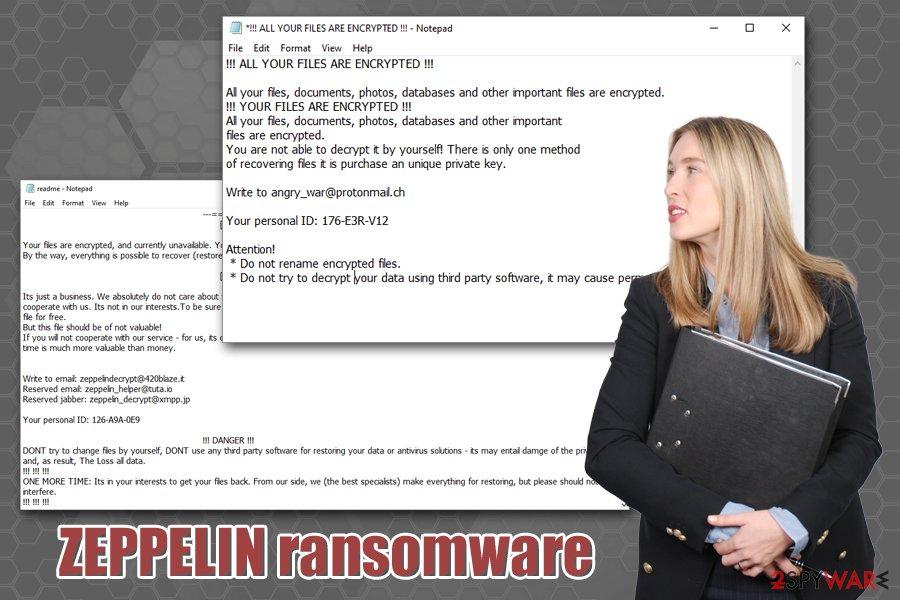 ZEPPELIN ransomware virus