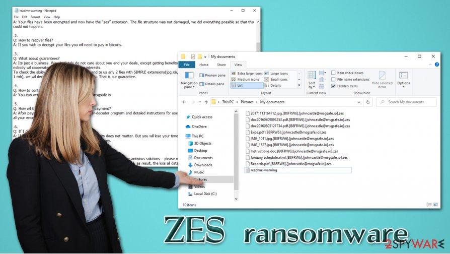ZES ransomware virus
