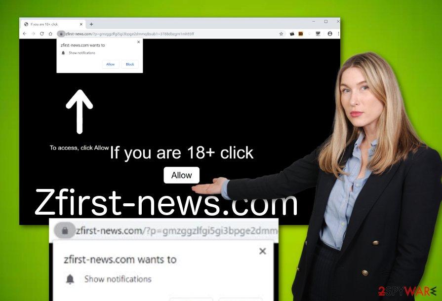 Zfirst-news.com adware