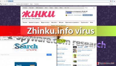 Image of Zhinku.info search engine