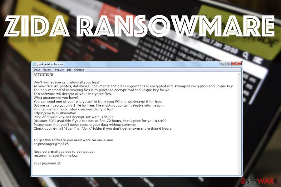 Zida ransomware