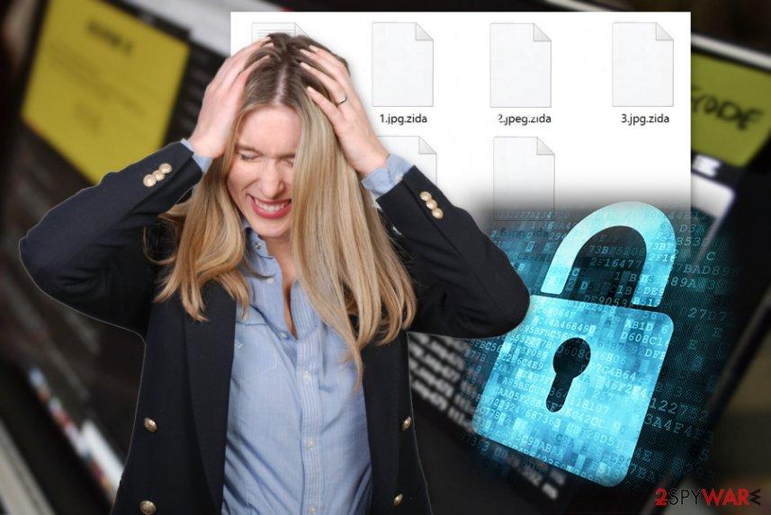Zida ransomware virus