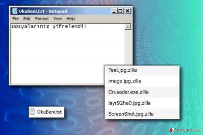 Zilla ransomware