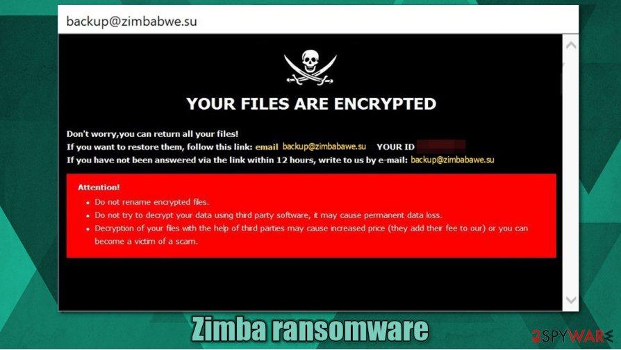 Zimba ransomware
