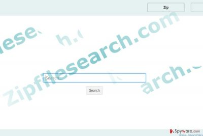 The image displaying Zipfilesearch.com