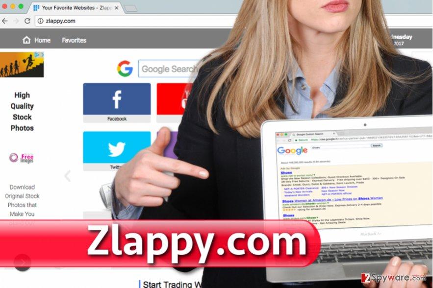 Zlappy.com virus