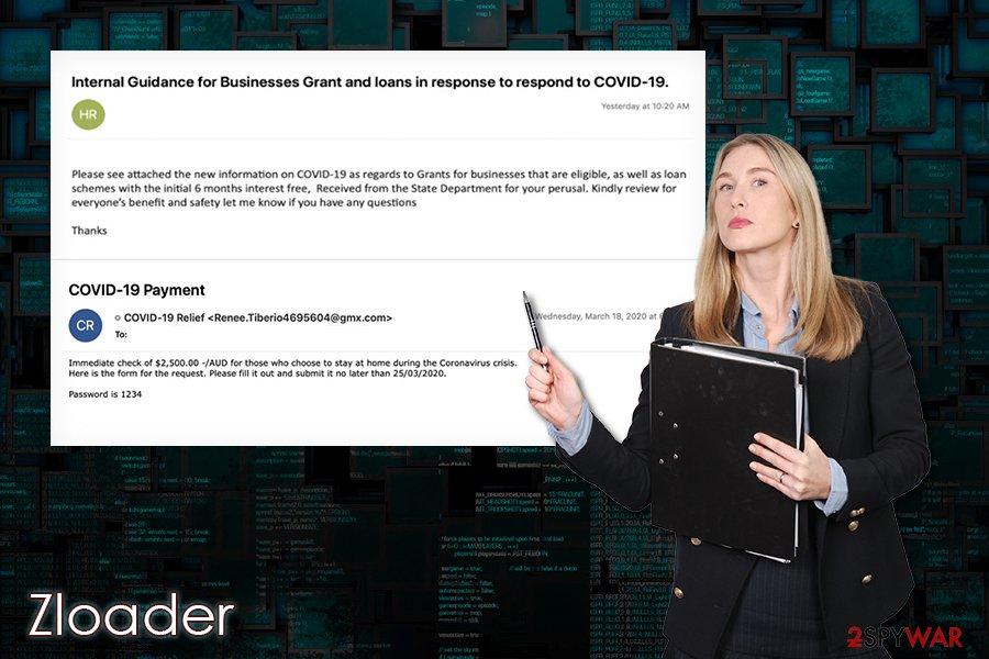 Zloader malware