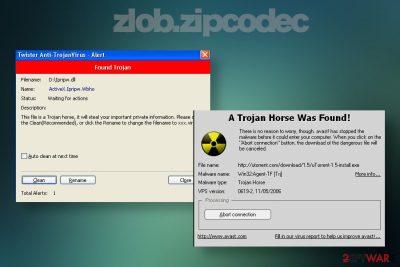 zlob.zipcodec virus