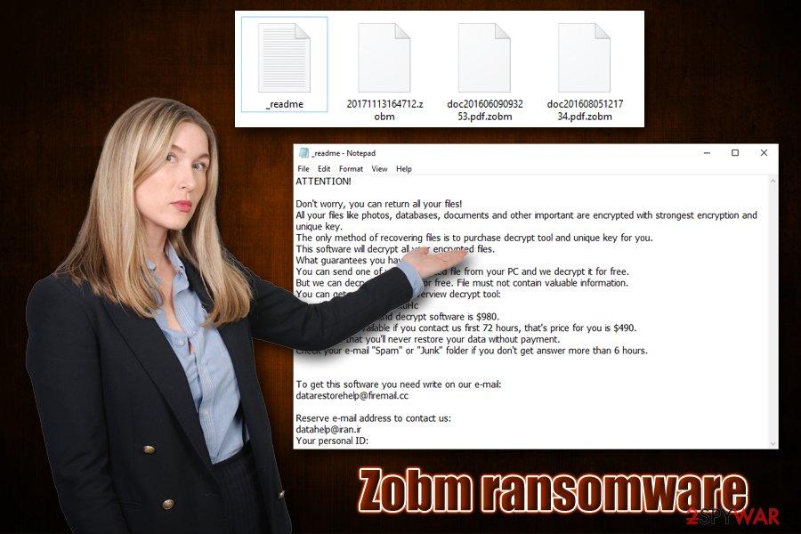 Zobm ransomware virus