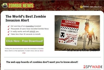 Zombies News removal