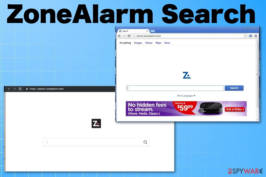 ZoneAlarm Search